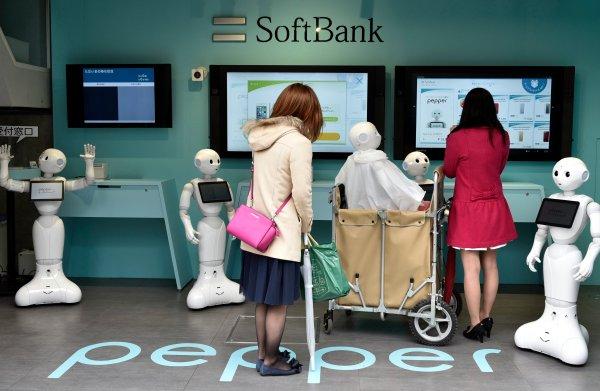 Beursgang Japanse telefoniegigant Softbank lijkt ruim 18 miljard op te gaan leveren