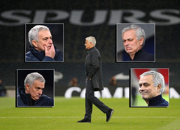 De vele gedaantes van José Mourinho.