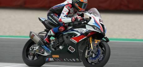 Van der Mark onderuit in sprintrace WK Superbike