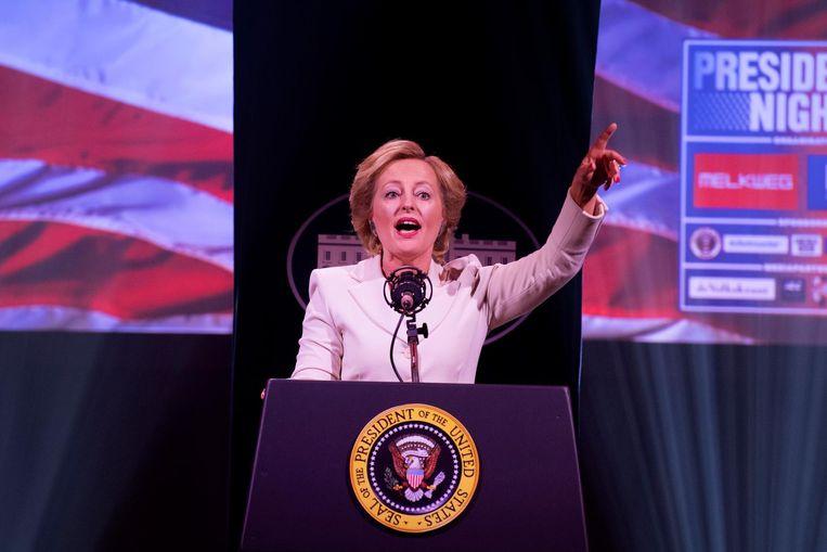 Bussemaker als Clinton Beeld ANP