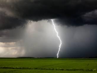 Vanavond lokaal fel onweer mogelijk met windstoten tot 100 km/u
