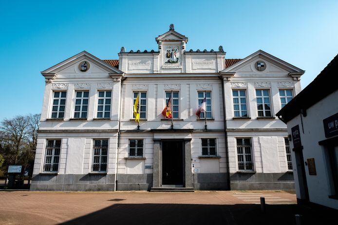Het gemeentehuis van Zandhoven.