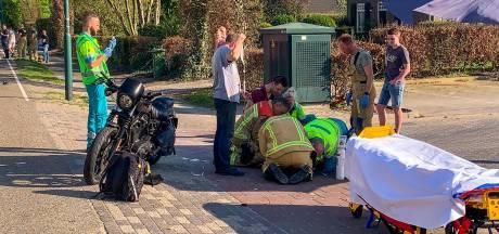 Motorrijders geschept door auto in Eersel: slachtoffers zwaargewond, automobilist aangehouden