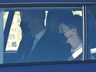 IN BEELD. Rouwende royals arriveren bij Windsor Castle