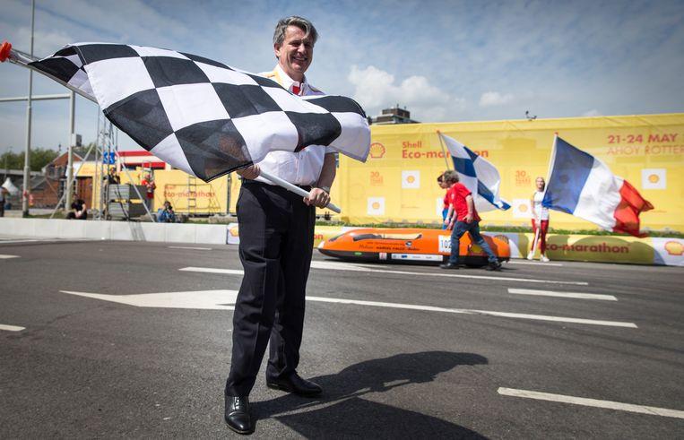 Ben van Beurden (Shell) verdiende vorig jaar 20,1 miljoen euro aan basissalaris, bonussen, aandelen, pensioen en overige inkomsten. Beeld ANP