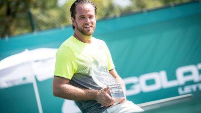 IN BEELD: Oude tennisgloriën geven het beste van zichzelf op BNP Paribas Fortis Champions, Malisse eindwinnaar