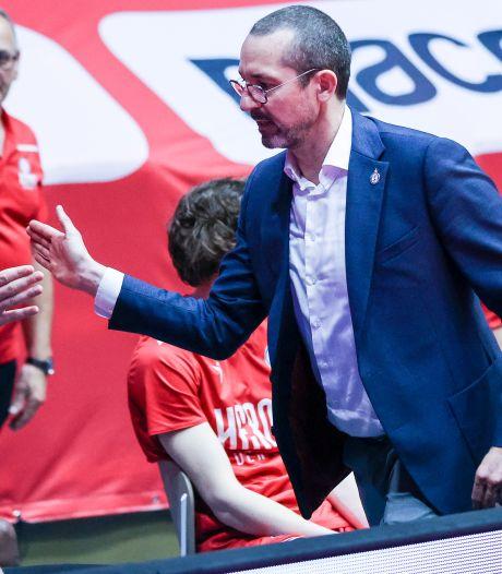 Jaumin wilde nog wel verder als coach van Heroes Den Bosch, maar de club wilde dat niet meer
