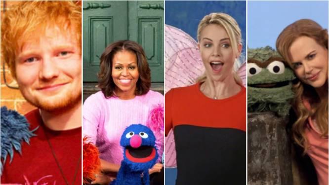 50 jaar 'Sesame Street': deze celebs waren al te zien in het beroemde kinderprogramma