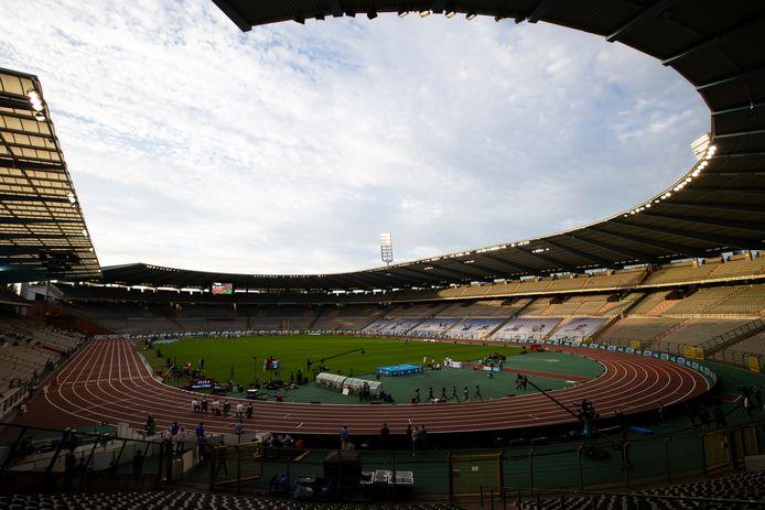Het Koningboudewijnstadion.