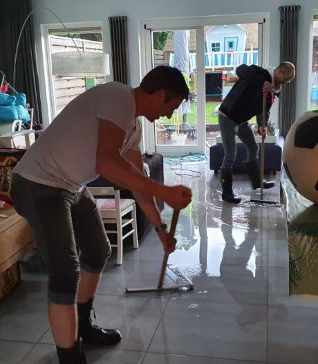 Delen van Brabant geteisterd door noodweer: wolkbreuk zorgt voor ondergelopen straten