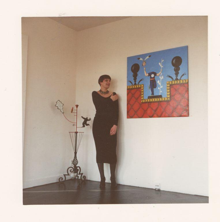 Voor werk van Luigi Serafini, 1988.  Beeld Galerie Marianne van Tilborg