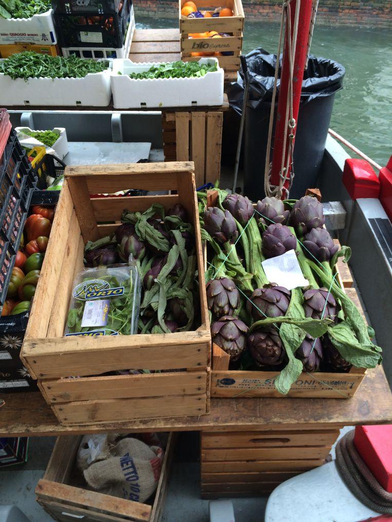 Mijn favoriet: de groenteboot. Beeld Lene Kemps/RV