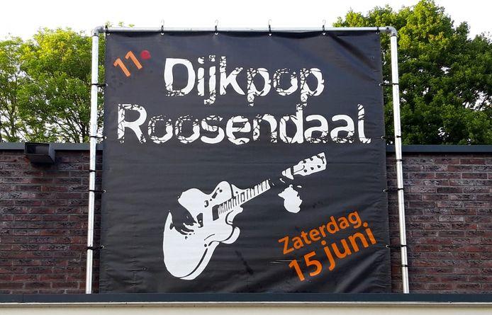 Elfde editie van gratis festival Dijkpop in Roosendaal