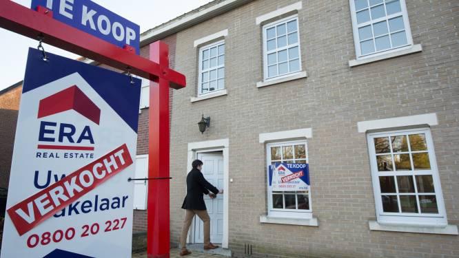 Na piek door schrapping woonbonus nu 7,6 procent minder woningen verkocht