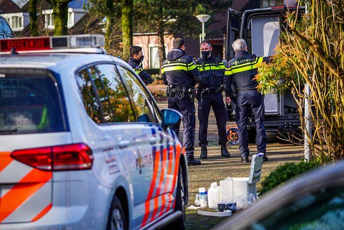 Bij de woningoverval aan de Stanserstraat in Best raakte de bewoonster gewond.