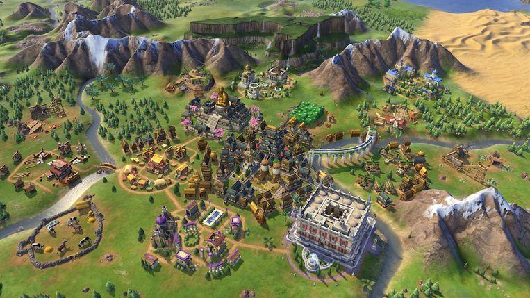 Civilization VI Beeld 2K Games