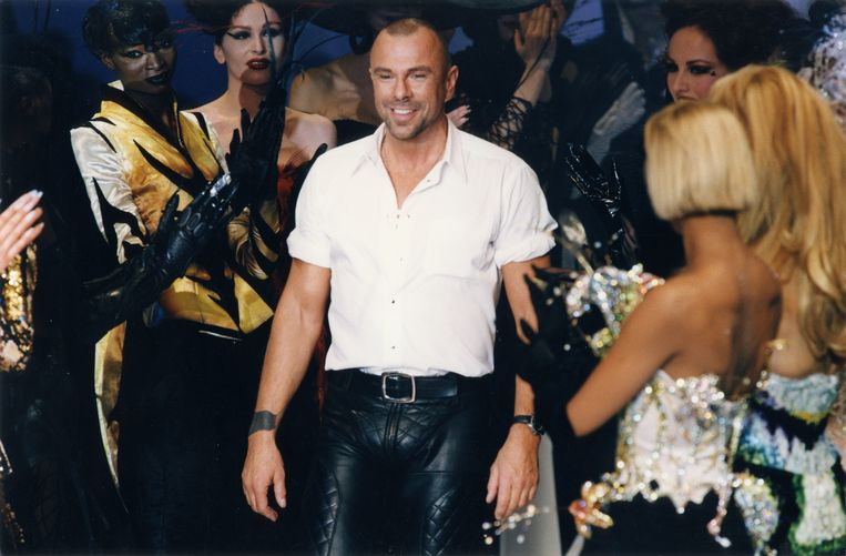 Thierry Mugler in 1997. Beeld Getty