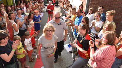 De Vlinder wuift juf Sonja uit met festival