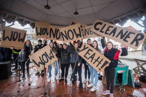 klimaatmars scholen Lummen