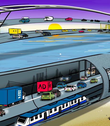 Brug of tunnel als nieuwe oeververbinding? Alle opties blijven open