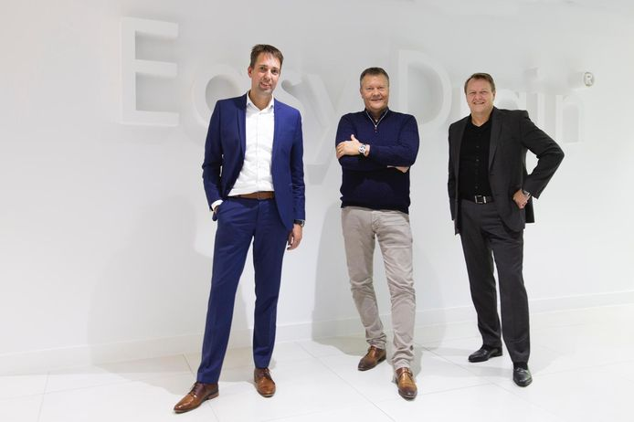Directie van ESS. Vlnr: Erik Groothenhuis, Jurgen Keizers en Eric Keizers.