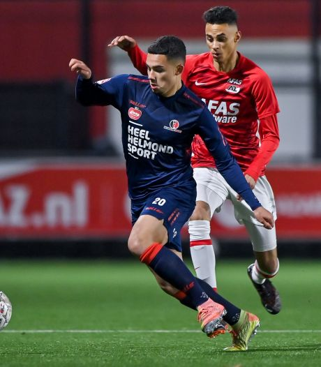 Cuijkse voetballer Joël Roeffen maakt seizoen af bij Helmond Sport