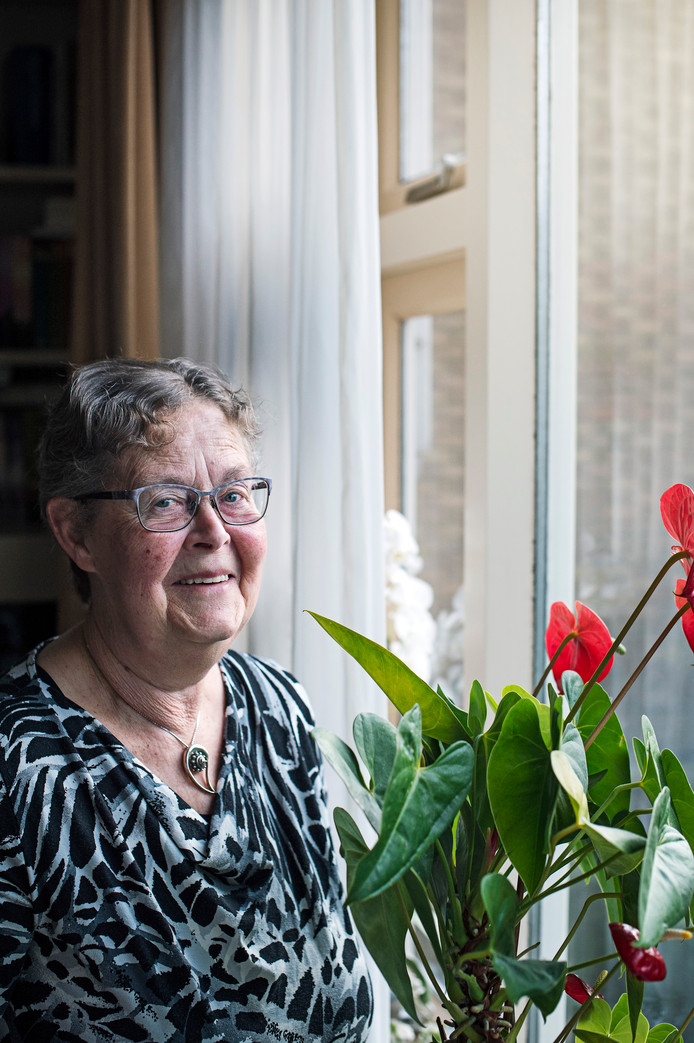 Krina de Visser: ,,Mensen hebben geen binding meer met  hun dorp en dat krijg je ook niet meer terug. Dat is verdrietig.''