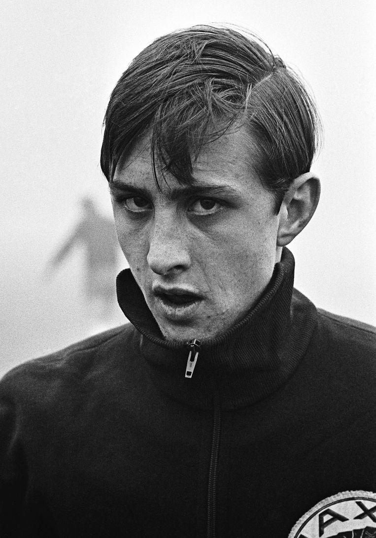 Johan Cruijff in 1968. Beeld ANP