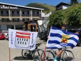Zeeuwse aanmoedigingen voor Tolhoek en Minnaard op Alpe d'Huez