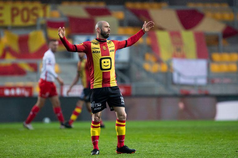 Steven Defour speelde mogelijk zijn laatste match in Mechelen. Beeld BELGA