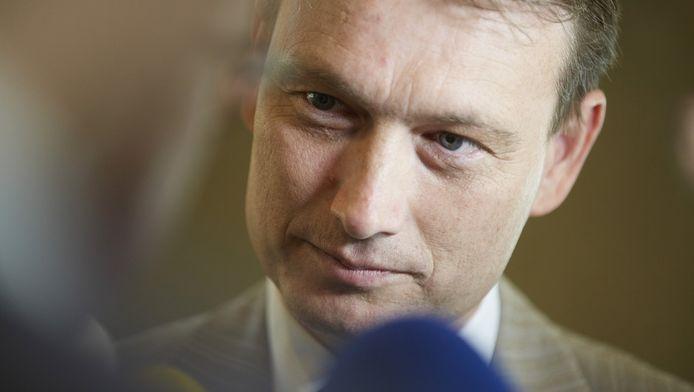 VVD-fractievoorzitter Halbe Zijlstra.
