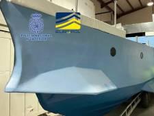 """Le premier """"narco sous-marin"""" fabriqué en Europe saisi en Espagne"""