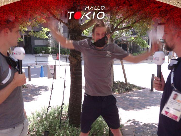 Hallo Tokio | Vooruitblik #2: 'Drie keer springen en je zweet'