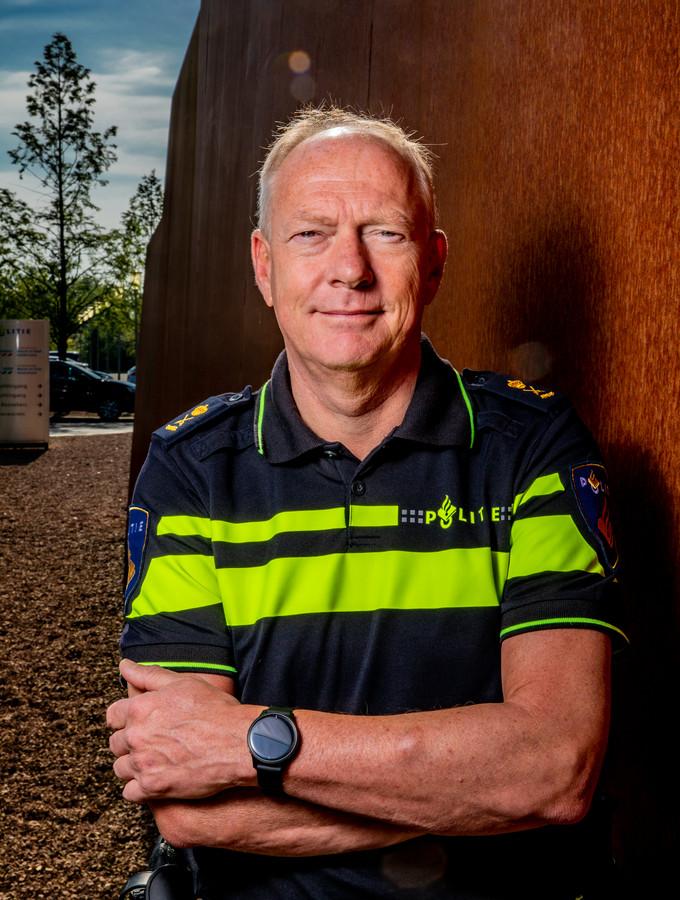 Oscar Dros, chef politie Oost-Nederland.