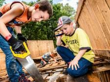 Wederom thuiseditie van Alphense huttenbouw 'We durven het niet aan'