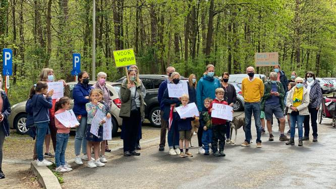 """Stil protest in Tessenderlo tegen pijpleiding: """"Natuurgebied Gerhagen zou verwoest worden"""""""