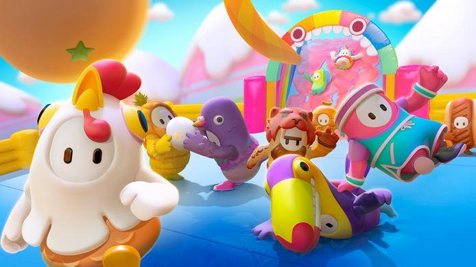 Spelers kruipen in de huid van kleurrijke poppetjes.