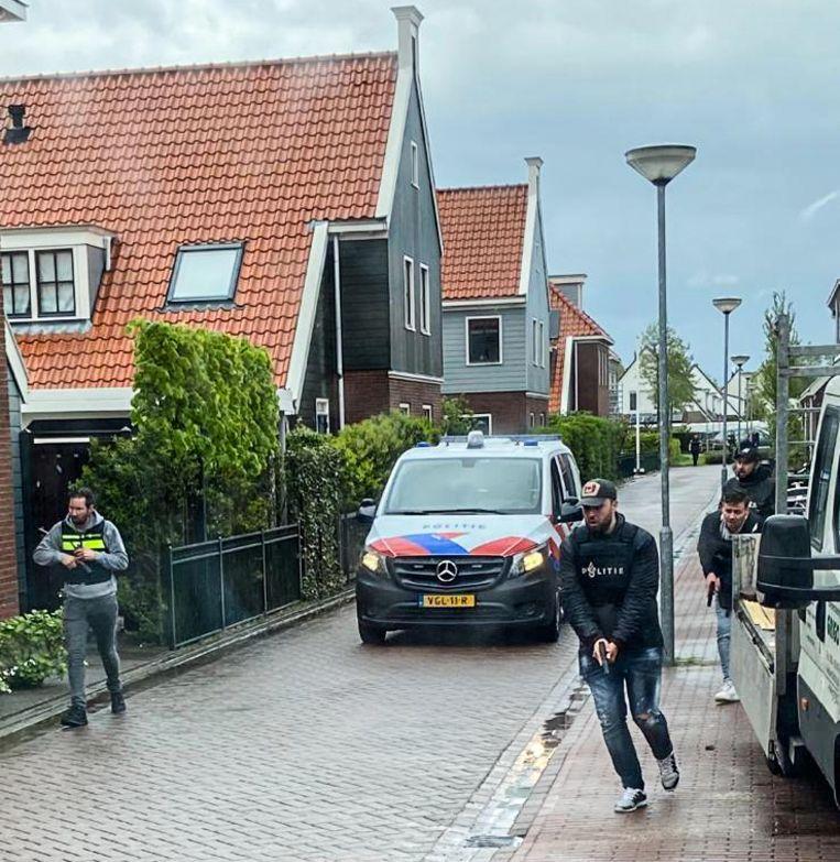 Politie in Broek in Waterland Beeld -
