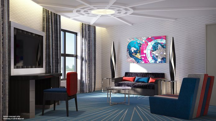Disney's Marvel Hotel.