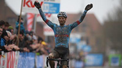 Pauwels wint de Kasteelcross in Zonnebeke na spannende strijd met talentvolle Pidcock
