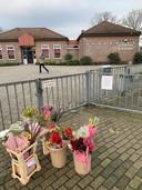 Bloemen bij de Wegwijzer in Oosterwolde.