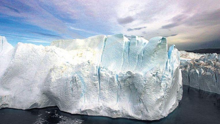 Groenlands ijs in spectaculair licht. Beeld ap