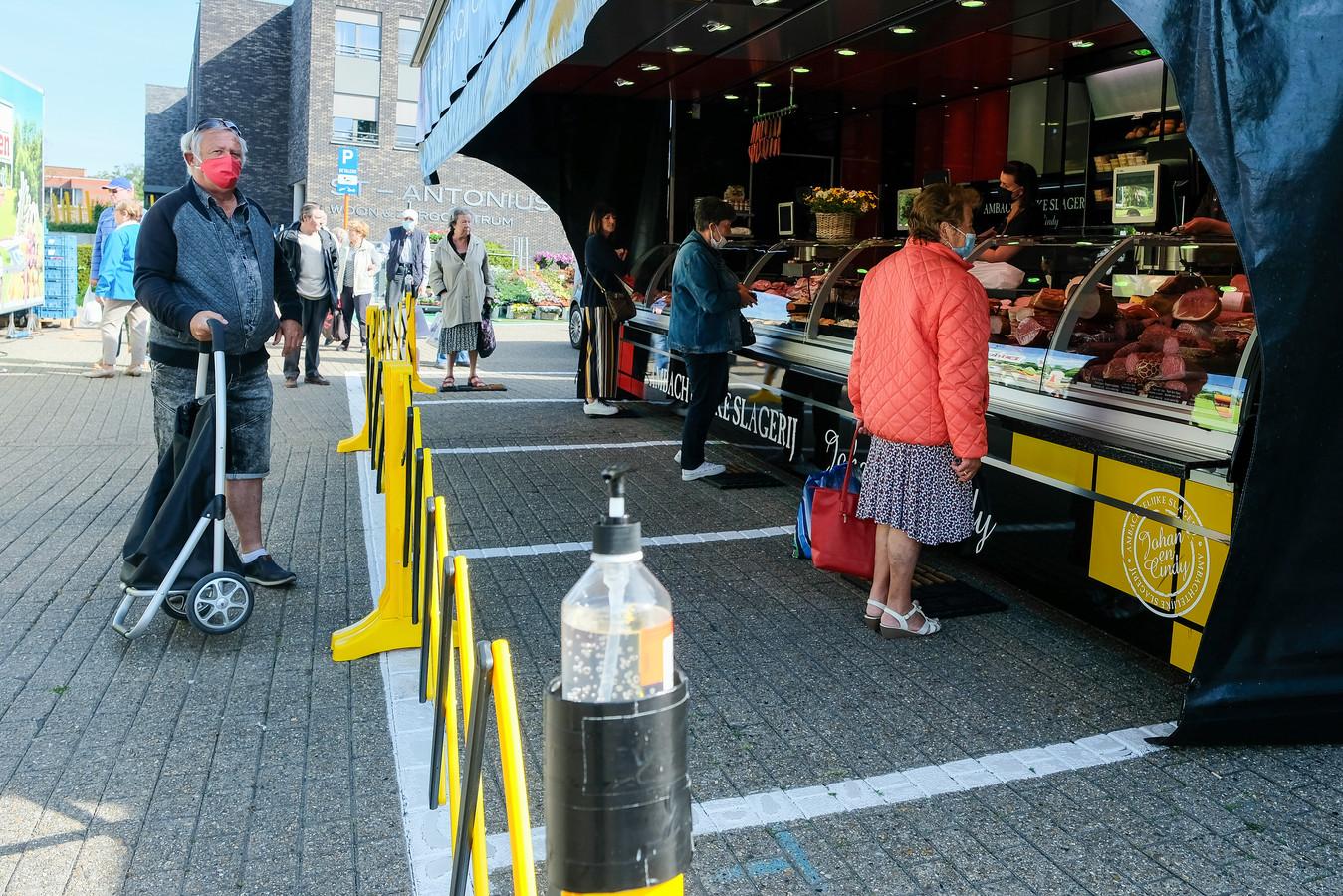 De wekelijkse markt in Zaventem.