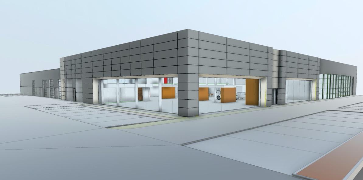 Een simulatie van het nieuwe complex.