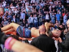 Fans bij UFC-event opgeschrikt door gruwelijke beenbreuk bij voormalig kampioen Weidman