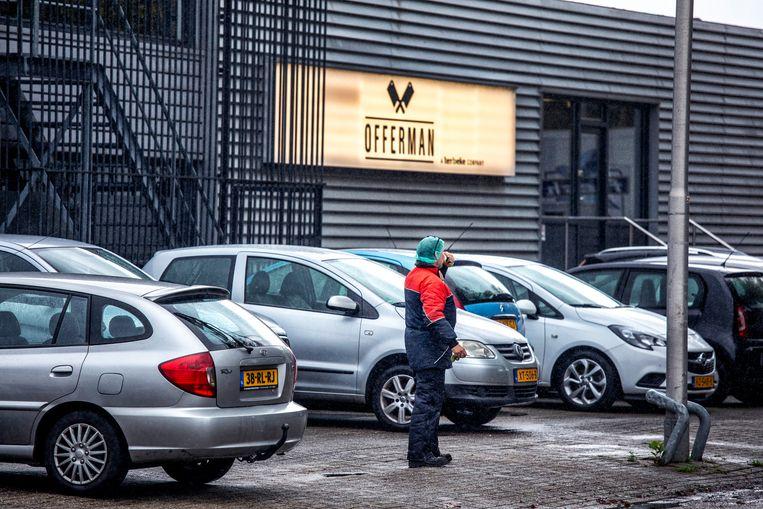 Het pand van vleeswarenbedrijf Offerman in Aalsmeer in 2019. De fabriek is inmiddels gesloten. Beeld  Raymond Rutting / de Volkskrant