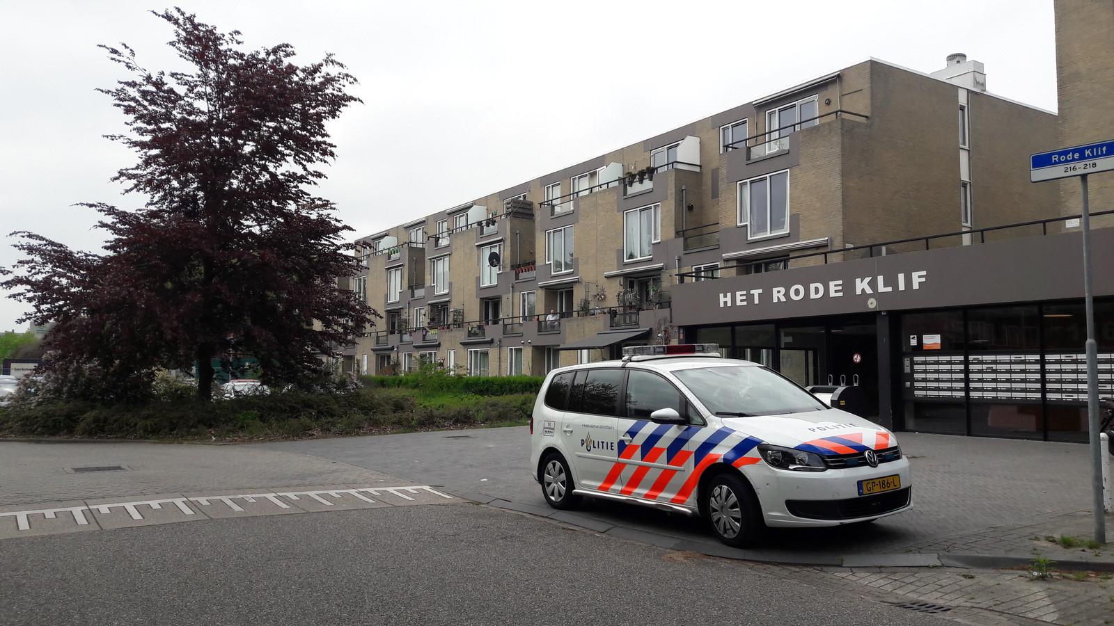 Appartementencomplex Het Rode Klif in Lelystad.