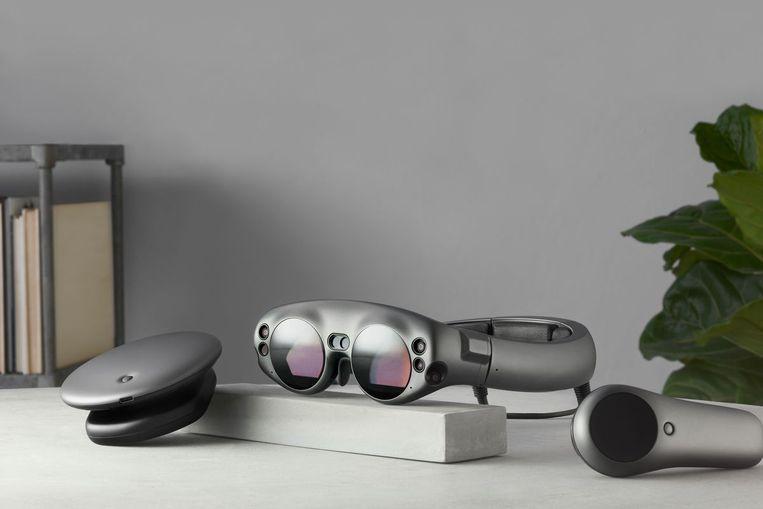 De headset Magic Leap One is in de VS te koop voor 2.295 dollar (1.980 euro). Beeld RV