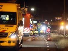 Beelden gestreamd vanuit auto die betrokken was bij ernstig ongeval in Rosmalen