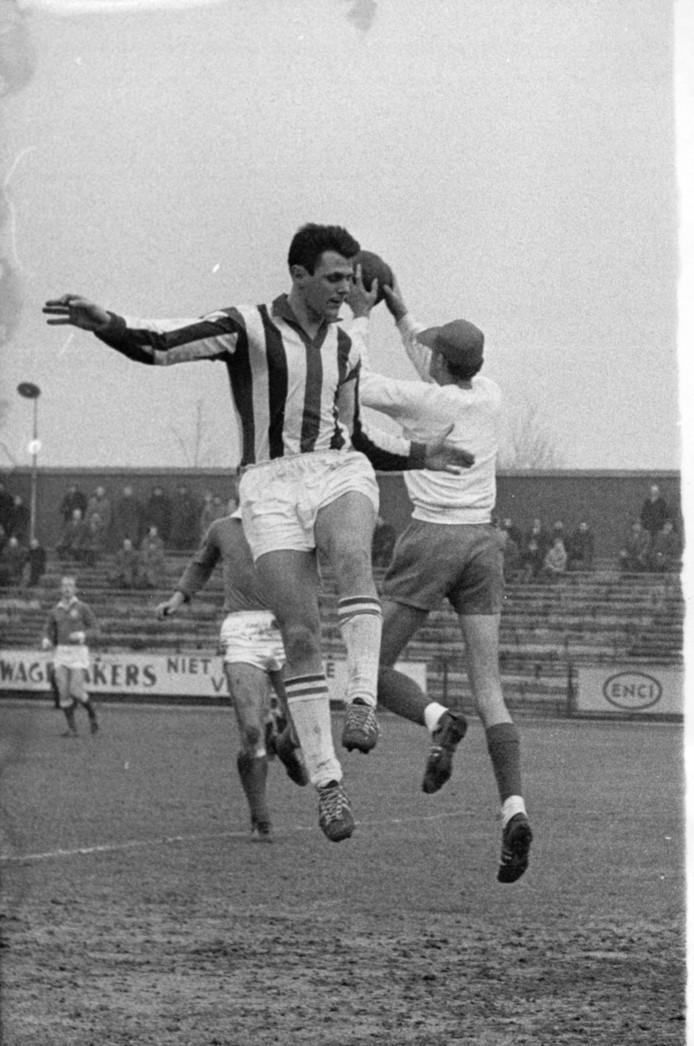 Coy Koopal, de Willem II-speler die de meeste doelpunten maakte voor de Tricolores op het hoogste niveau.